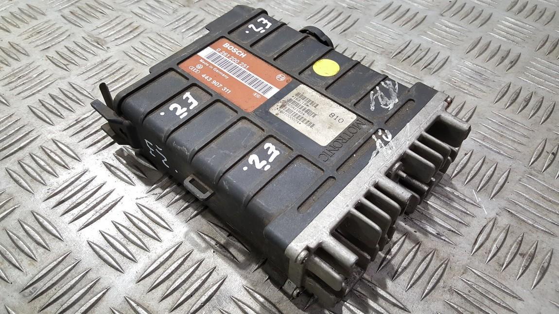 Variklio kompiuteris 0261200251 443907311 Audi 80 1994 1.9