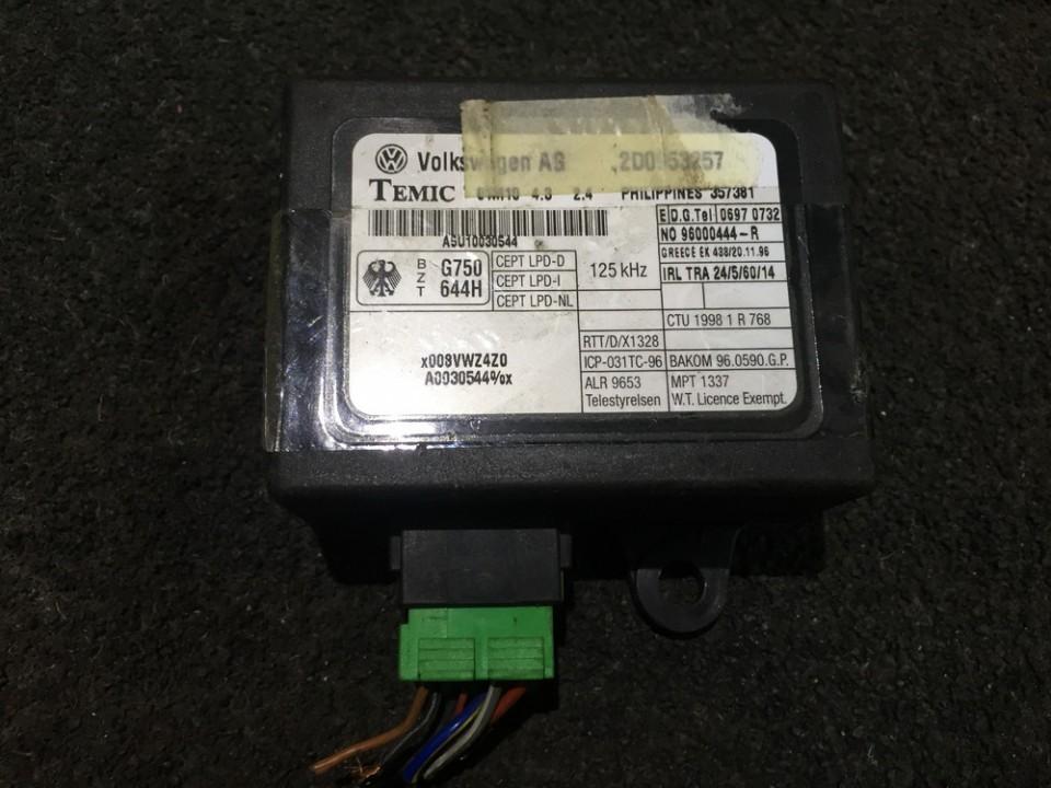 Imobilaizerio kompiuteris 2d0953257 n/a Volkswagen LT 1998 2.5