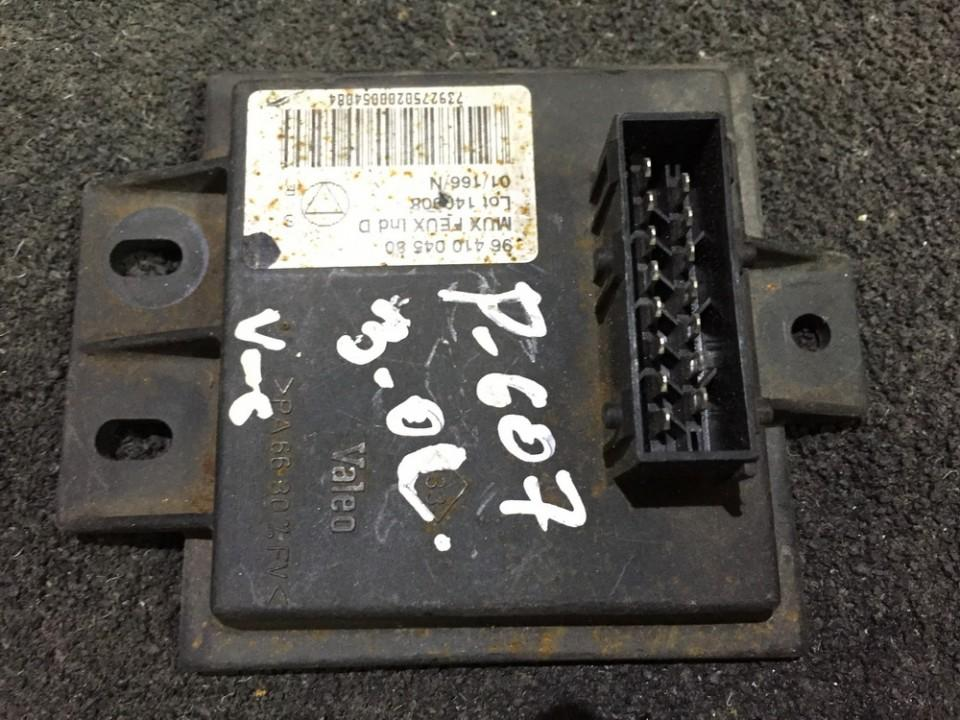 Ignition Control Module Peugeot 607 2003    3.0 9641004580