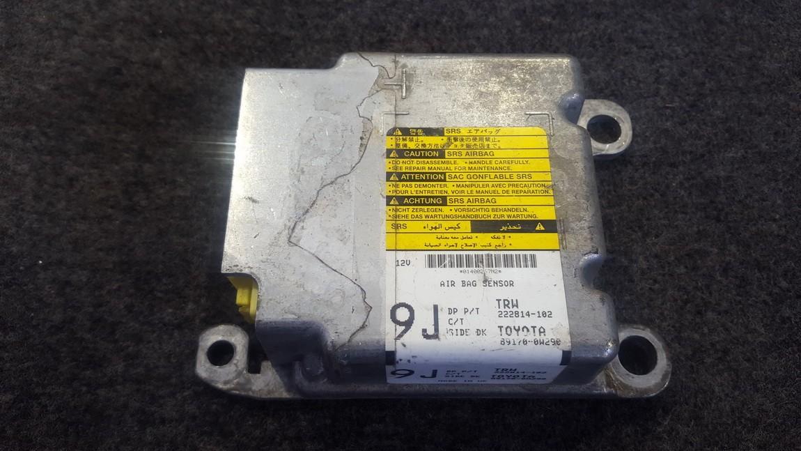 Airbag crash sensors module 891700W290 89170-0W290, TRW 222814-102 Toyota AURIS 2008 2.0
