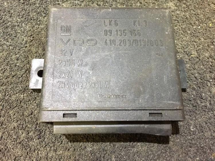 Kiti kompiuteriai 09135156 410.203/013/003 Opel ZAFIRA 2006 1.6