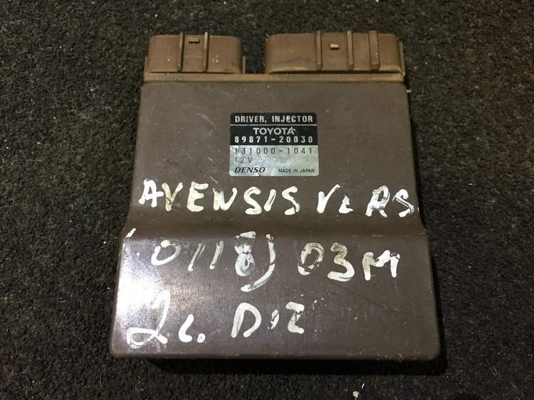 Fuel Injection ECU Toyota Avensis Verso 2003    2.0 8987120030