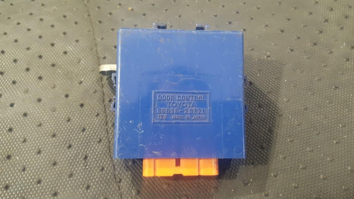 Door control relay (DOOR CONTROL UNIT MODULE ECU ) 8591820020 85918-20020 Toyota CARINA 1994 1.6