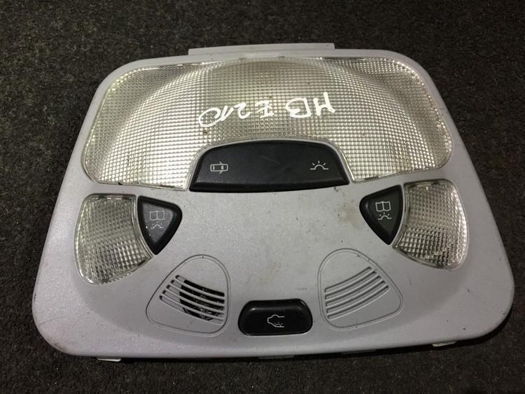 Front Interior Light a2038201001 7d43, kw490 cs3.37 Mercedes-Benz E-CLASS 2000 0.0