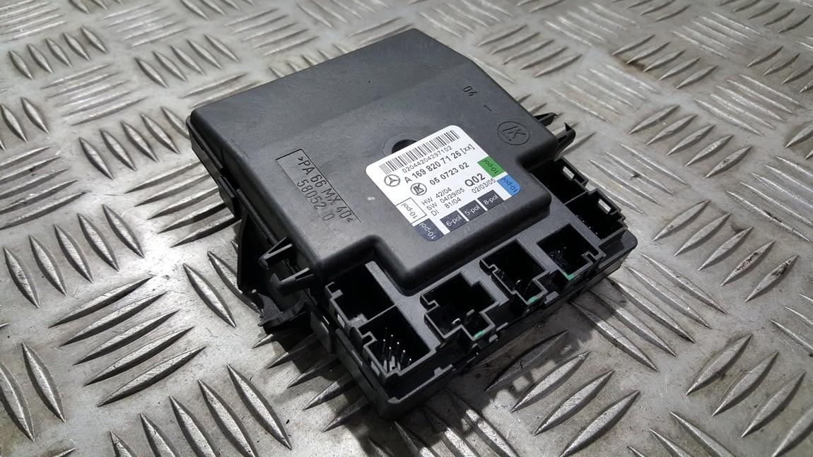 Door control relay Mercedes-Benz A-CLASS 2005    0.0 A1698207126