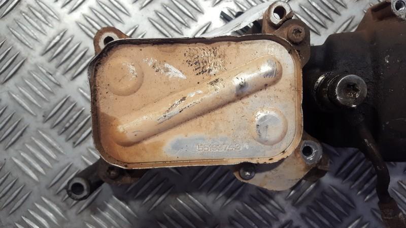 Масляный радиатор 55193743 NENUSTATYTA Fiat DOBLO 2007 1.3