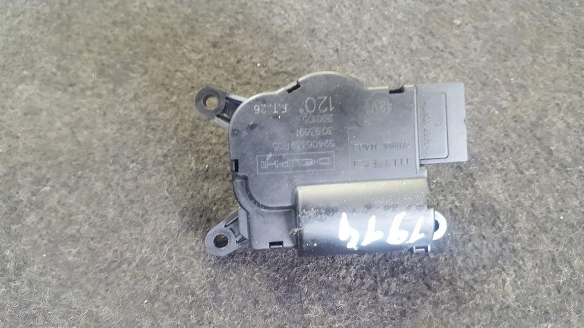 Heater Vent Flap Control Actuator Motor 52406339R05 30.93691 Opel ASTRA 1998 2.0