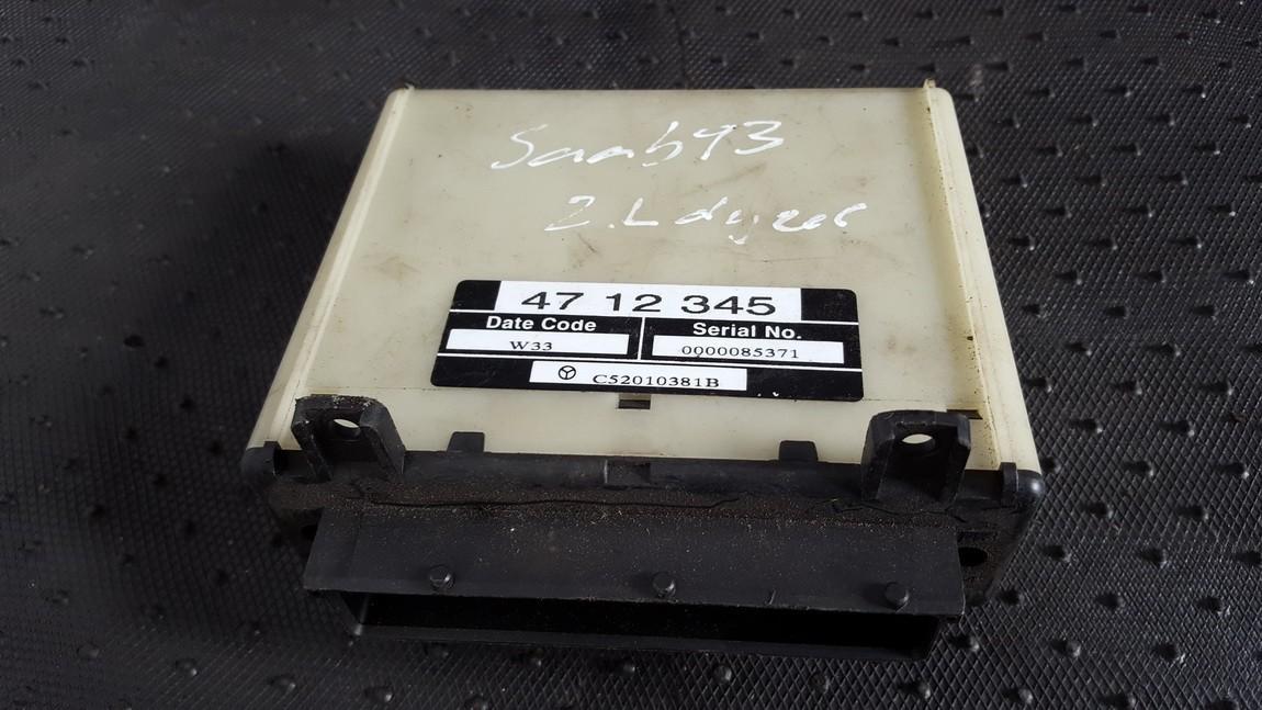 Kiti kompiuteriai 4712345 c52010381b SAAB 9-5 1998 2.0