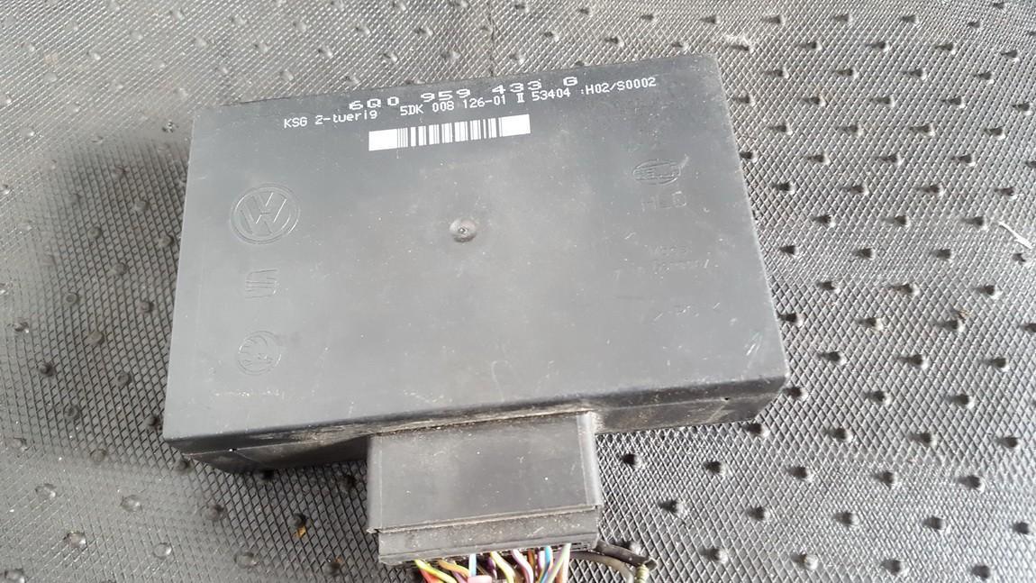 General Module Comfort Relay (Unit) 6q0959433g 5dk008126-01 Volkswagen POLO 2006 1.2