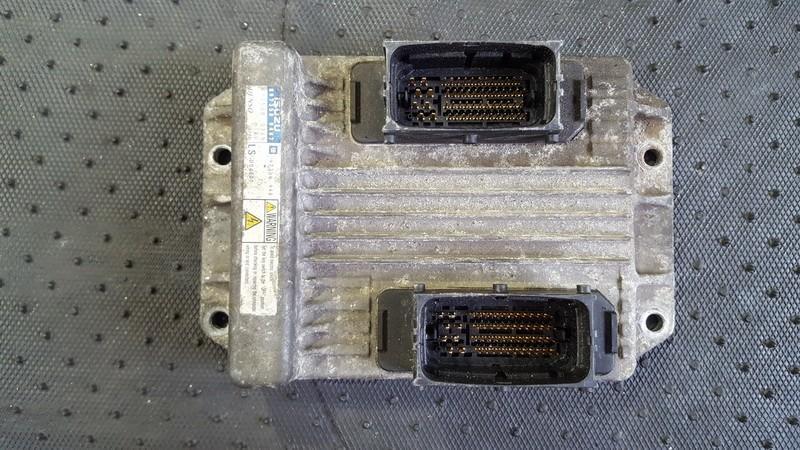 Блок управления двигателем 8973509487 112500-0165, 97350948 Opel MERIVA 2005 1.7