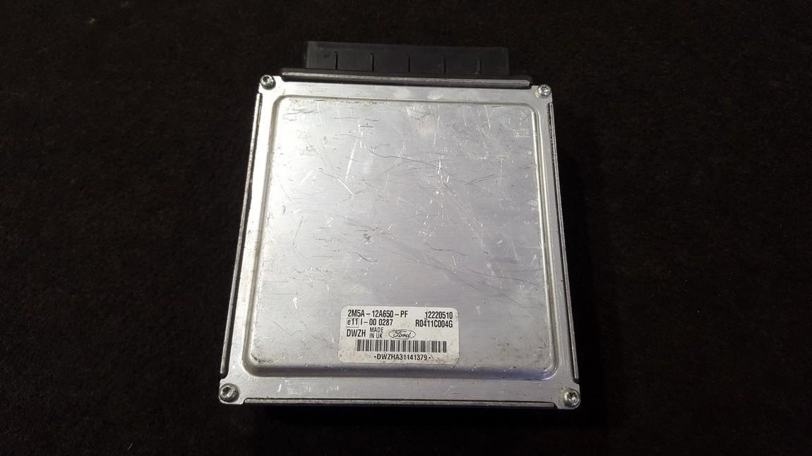 Variklio kompiuteris 2M5A12A650PF 12220510, 2M5A-12A650-PF, R0411C004G Ford FOCUS 2002 1.8