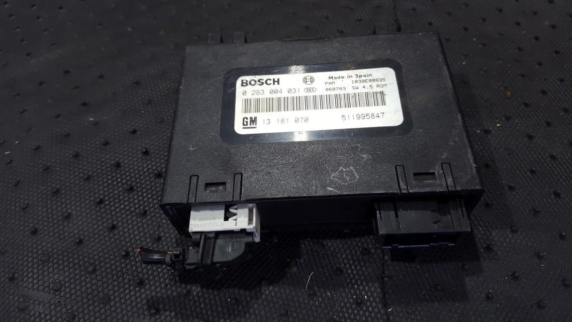 Parking Sensor ECU Opel Zafira 2007    0.0 0263004031