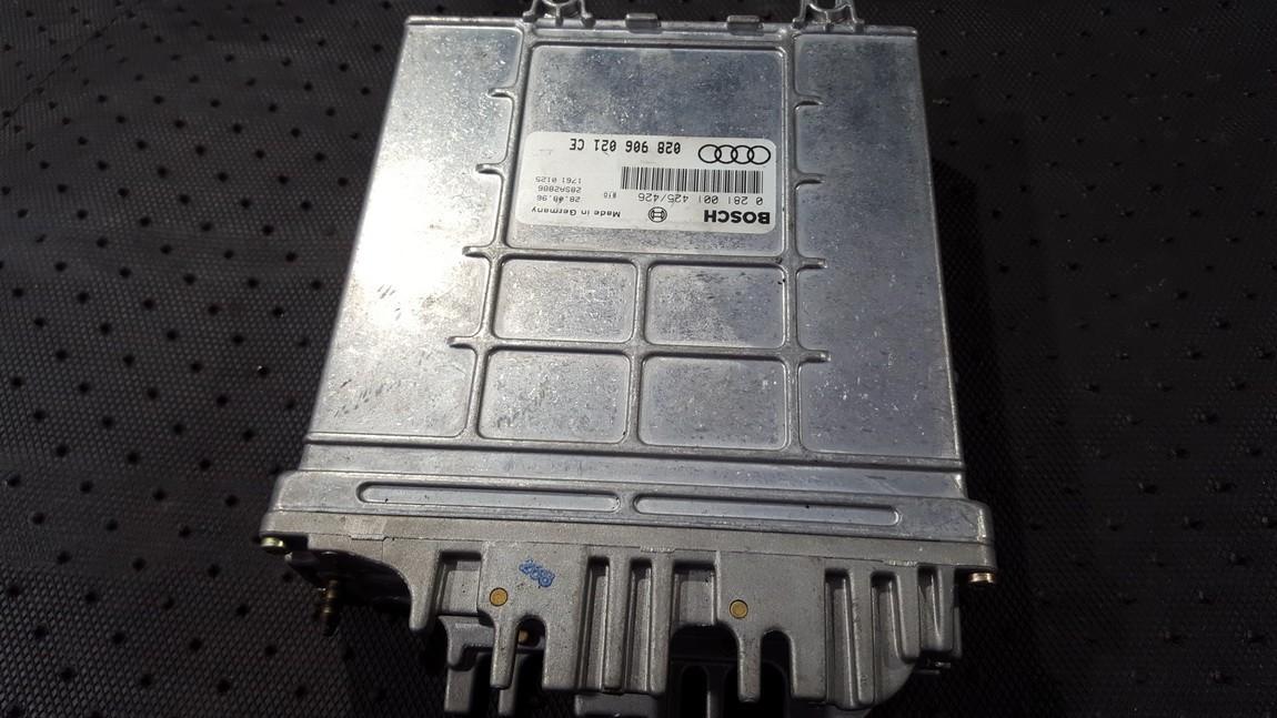 Variklio kompiuteris 028906021ce 0281001425/426 Audi A4 1996 1.6
