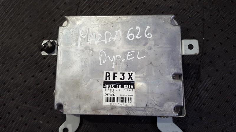 ECU Engine Computer  Mazda  626, 1997.04 - 2002.10