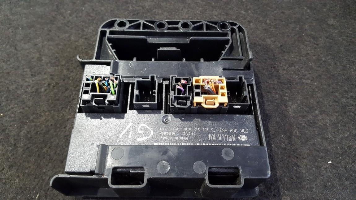 Door control relay Volkswagen Golf 2004    0.0 5dk00858315