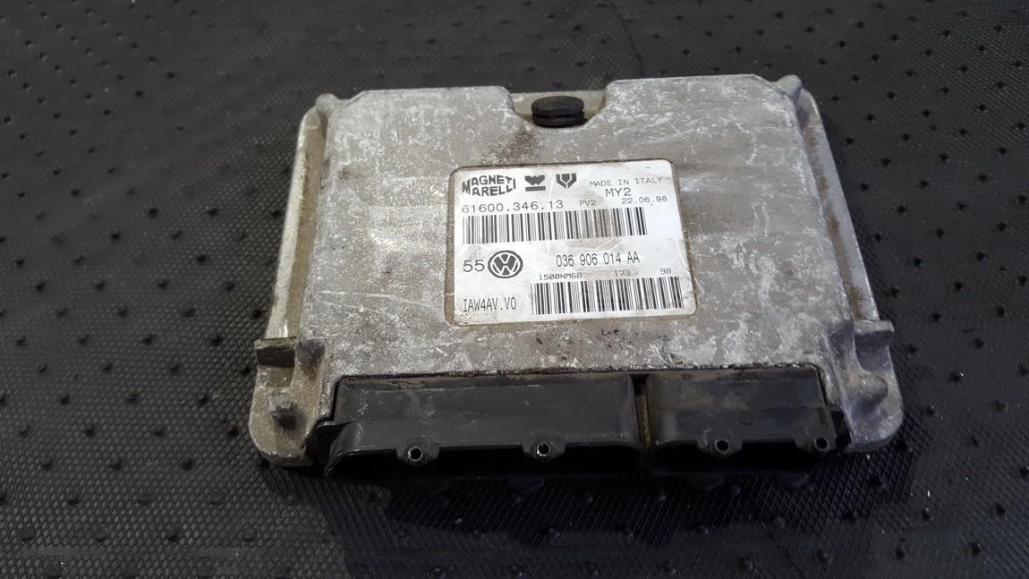 Блок управления двигателем 6160034613 036906014AA Volkswagen GOLF 2005 1.9