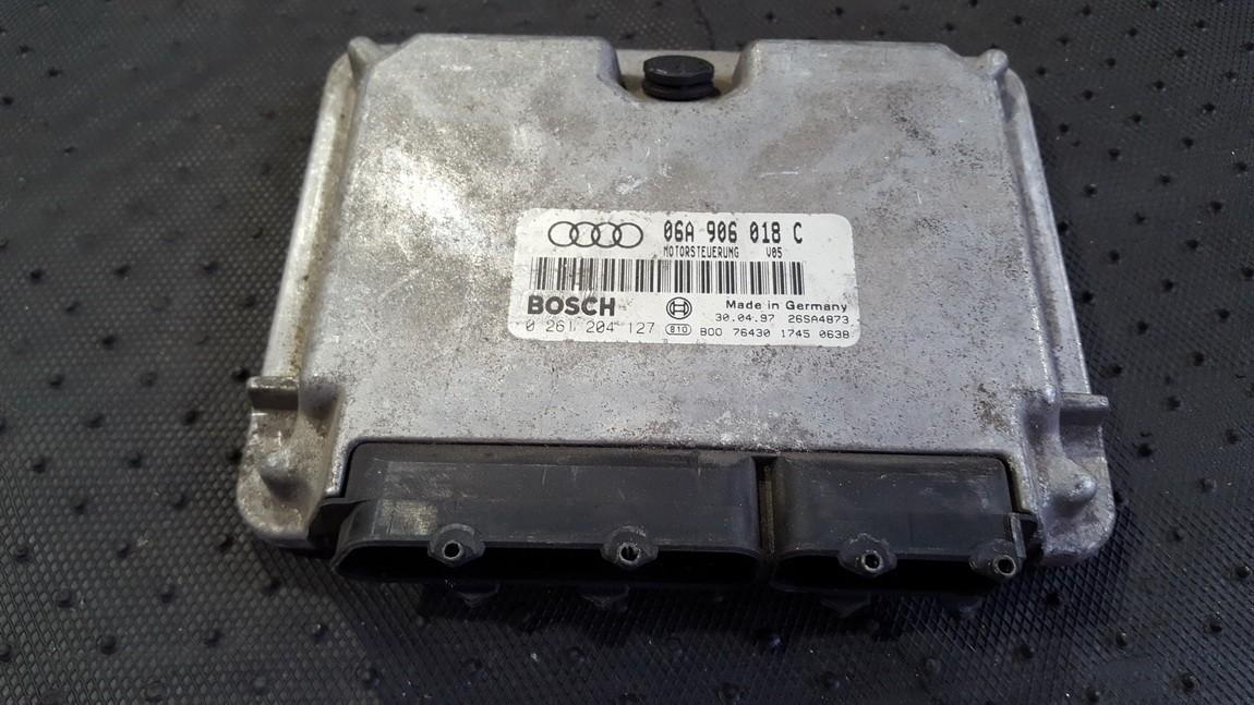 Variklio kompiuteris 06A906018C 0261204127 Audi A3 2006 2.0