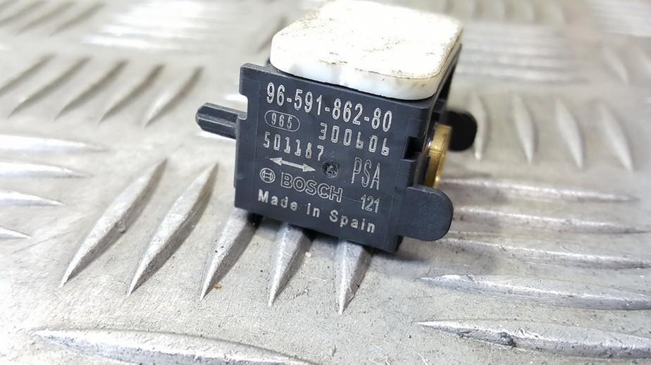 SRS ДАТЧИК (Датчик AIR BAG) 9659186280 96-591-862-80 Peugeot 207 2009 1.4