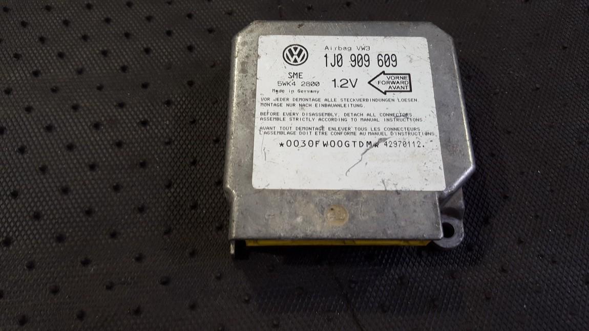 SRS Airbag kompiuteris 1J0909609 5WK42800 Volkswagen GOLF 1992 1.4