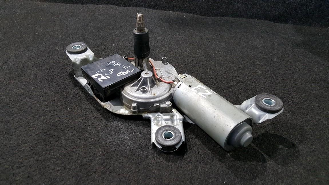 Rear wiper motor (Rear Screen Wiper Engine) BMW X3 2007    0.0 0390201594