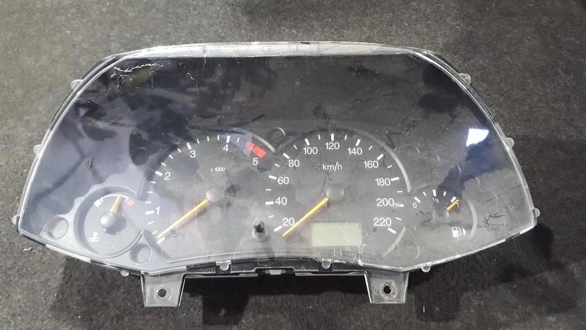 Spidometras - prietaisu skydelis 98ap10841bc nenustatyta Ford FOCUS 2003 1.6