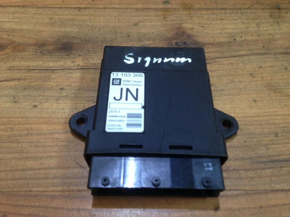 Door control relay Opel Signum 2005    2.0 13193366