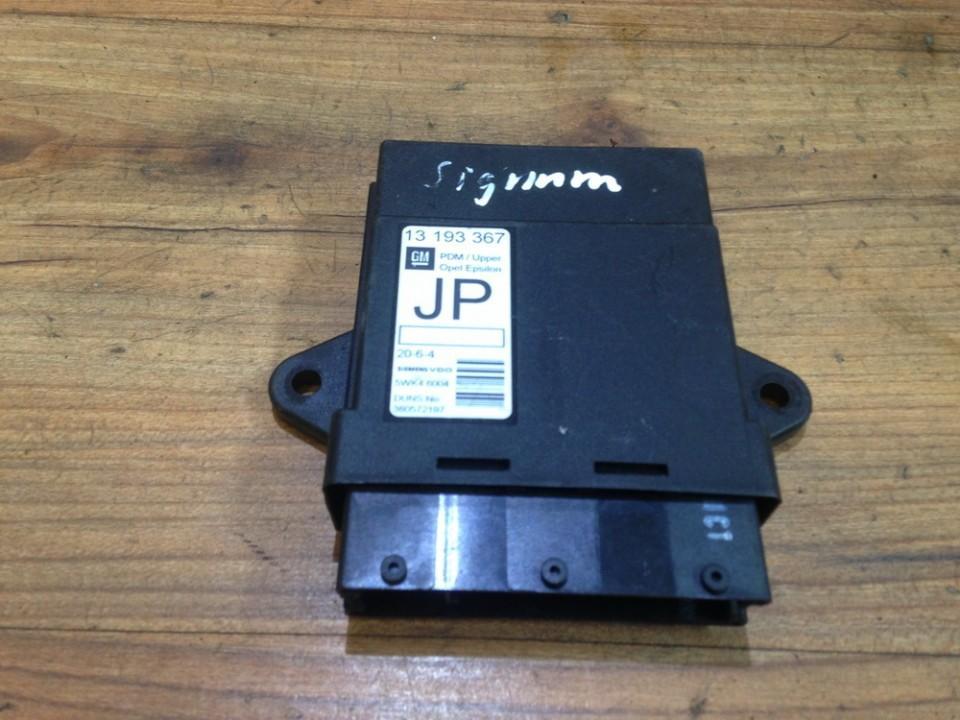 Door control relay Opel Vectra 2004    2.0 13193367
