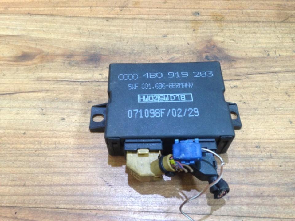Блок управления парковочным Audi A6 2003    2.0 4b0919283