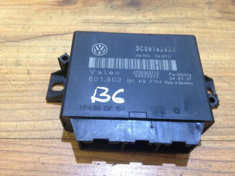 Parking Sensor ECU Volkswagen Passat 2006    2.0 3c0919283b