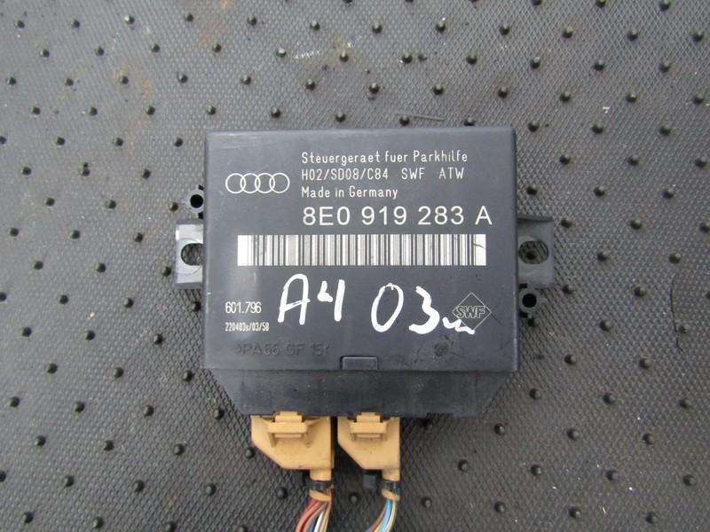 Блок управления парковочным Audi A4 2003    1.8 8e0919283a