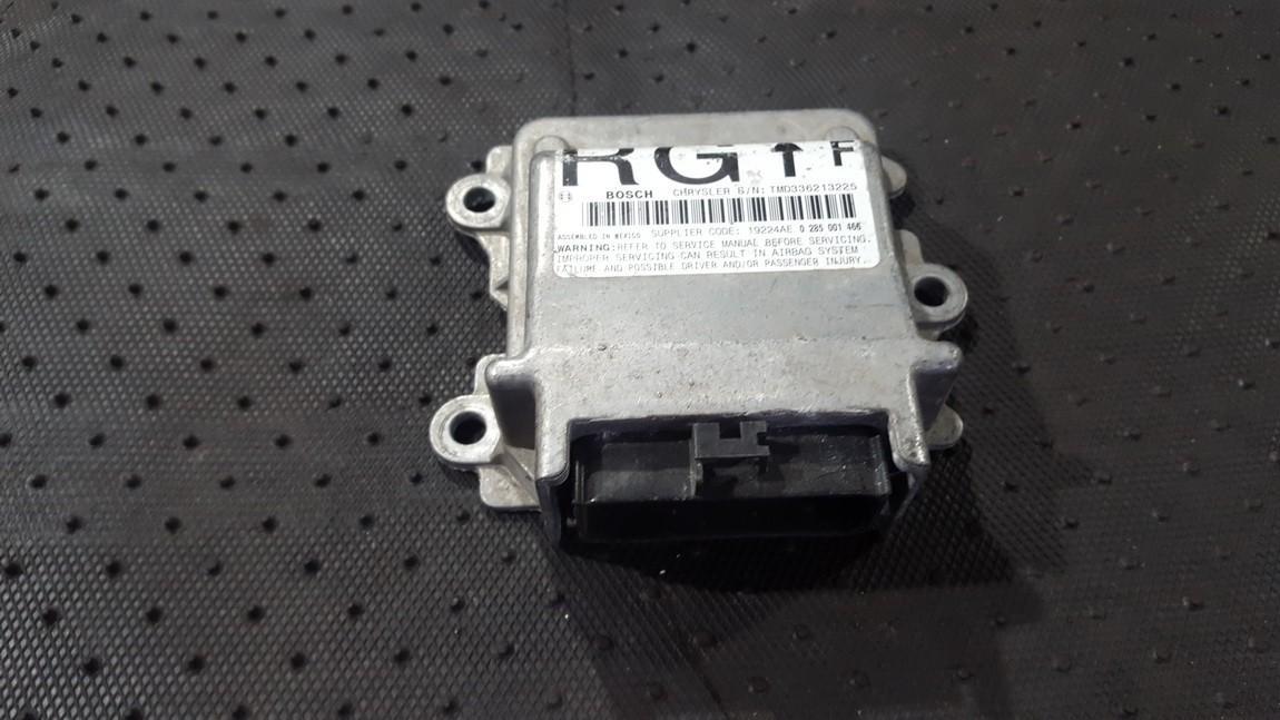 Airbag crash sensors module Chrysler Voyager 2004    0.0 04748604AC