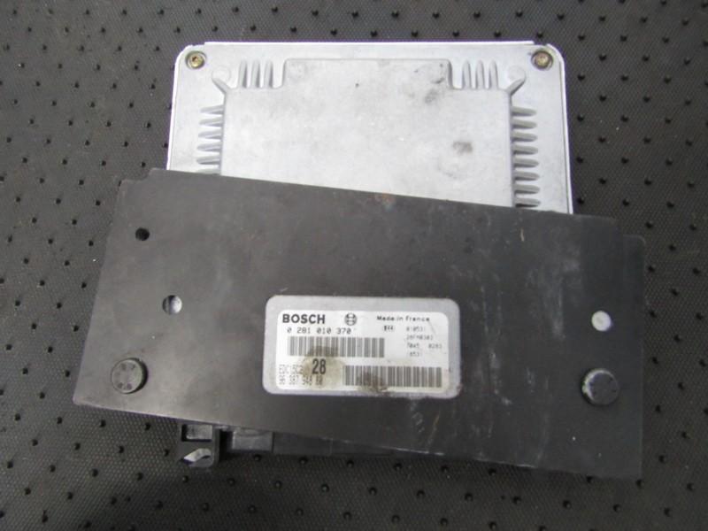 Variklio kompiuteris 0281010370 9638794880, edc15c228, 81362403 Peugeot 406 1996 1.9