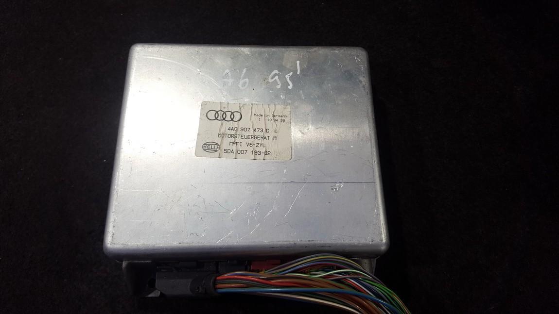 Variklio kompiuteris 4a0907473d 5da007193-02 Audi 100 1991 2.5