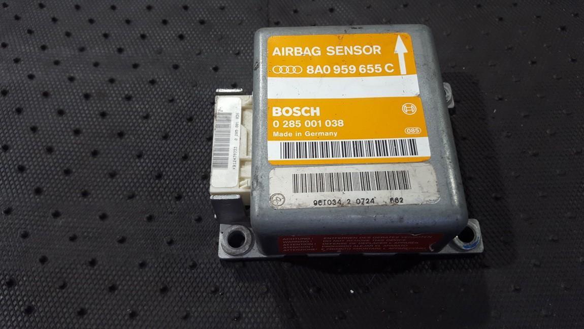 Airbag crash sensors module Audi A4 1997    0.0 8A0959655C