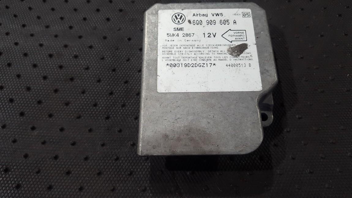 Airbag crash sensors module Volkswagen Golf 2000    0.0 6Q0909605A