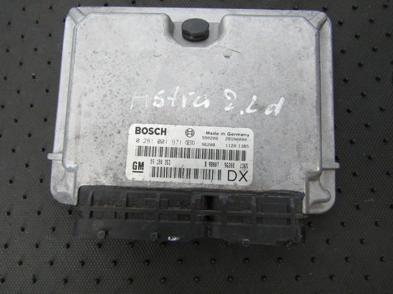 Opel  Astra Variklio kompiuteris
