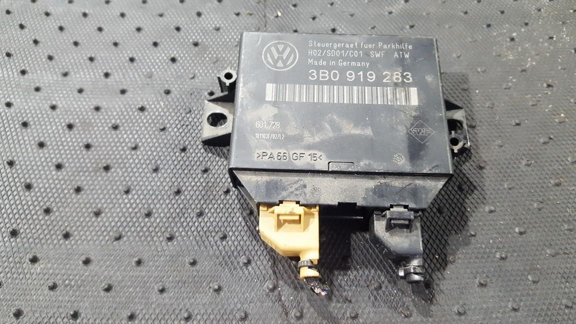 Parking Sensor ECU Volkswagen Passat 2002    0.0 3B0919283