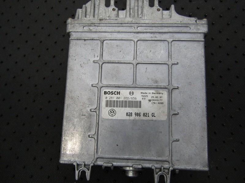 ECU Engine Computer  Volkswagen Passat 1997    1.9 0281001655