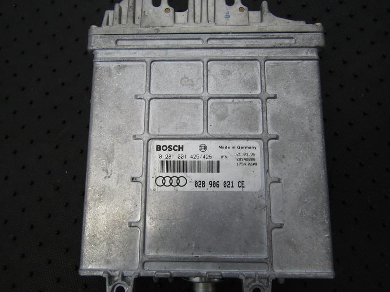 ECU Engine Computer  Audi A4 1996    1.9 028906021CE