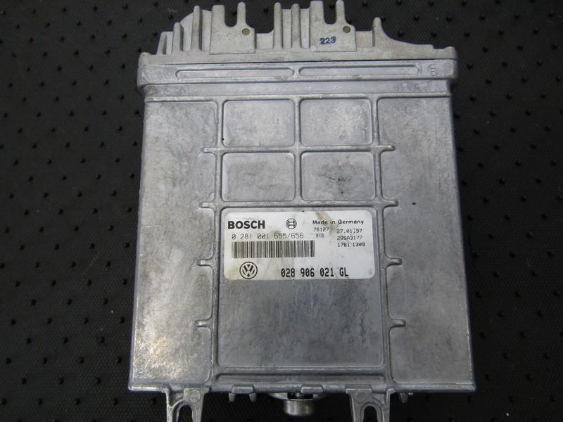 ECU Engine Computer  Volkswagen Passat 1997    1.9 028906021GL