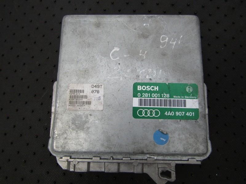 ECU Engine Computer  Audi 100 1994    2.5 0281001128