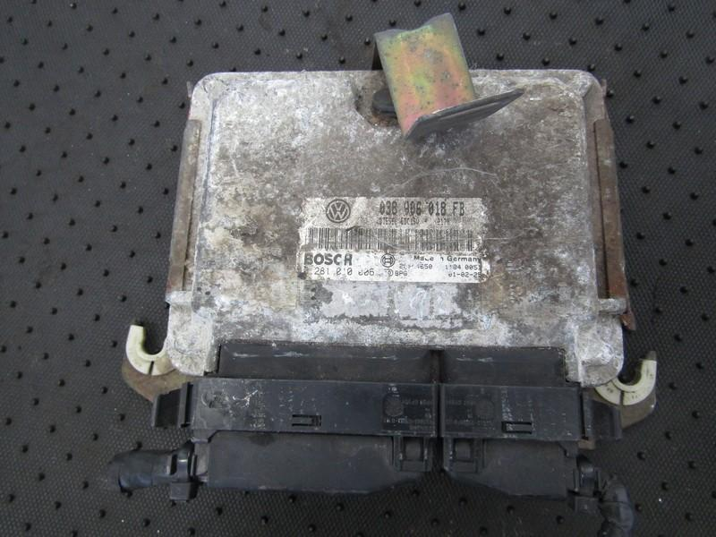 ECU Engine Computer  Seat Ibiza 1997    1.9 038906018FB