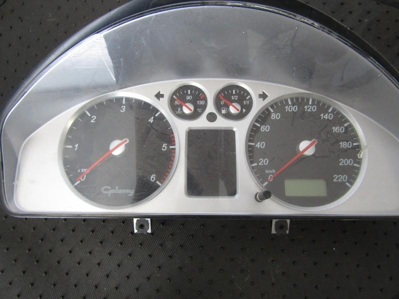 Spidometras - prietaisu skydelis 7M5920800E YM2110849APC Ford GALAXY 2004 2.8