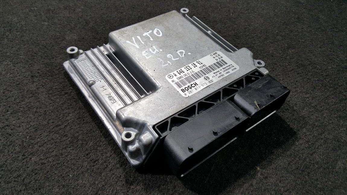 ECU Engine Computer  Mercedes-Benz Vito 2006    2.2 A6461531891