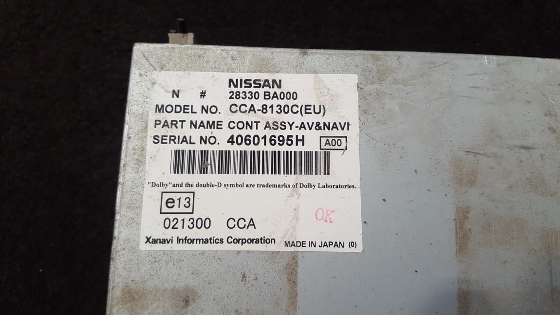 навигация CD-чейнджер Nissan Primera 2006    1.7 CCA8130C