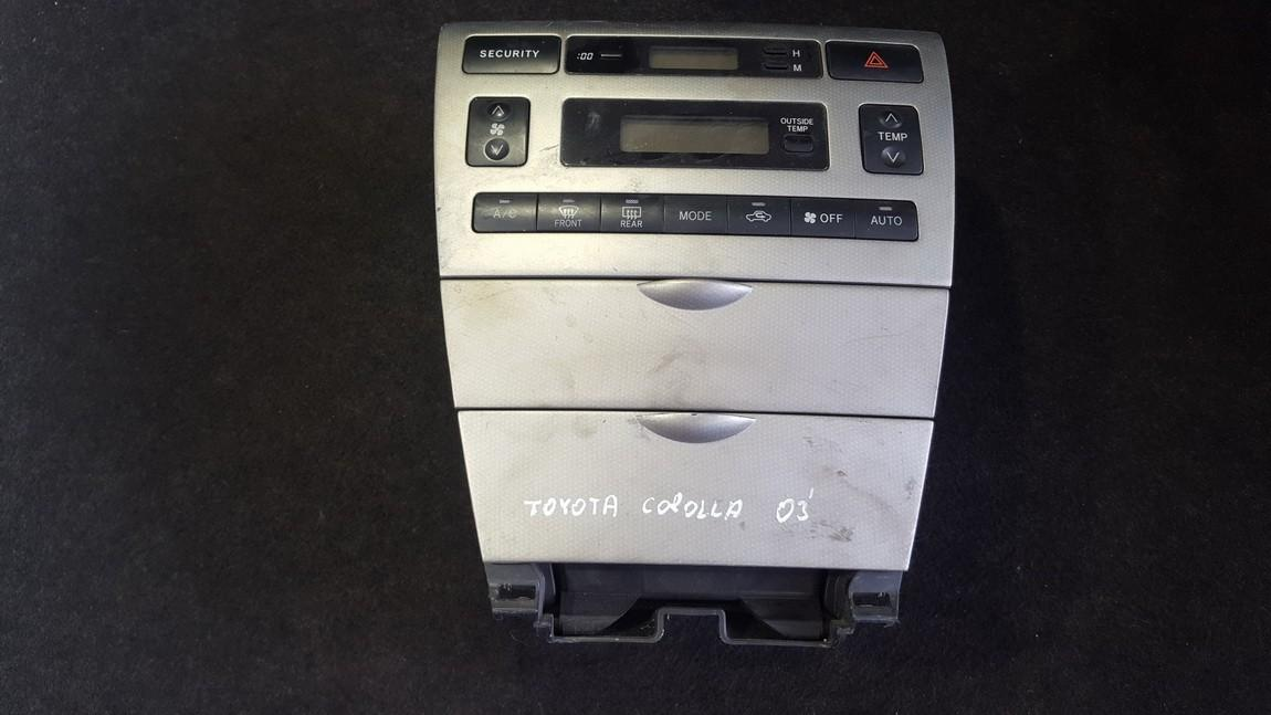 Peciuko valdymas 5593013070 55411-1A240 Toyota COROLLA 1992 1.6