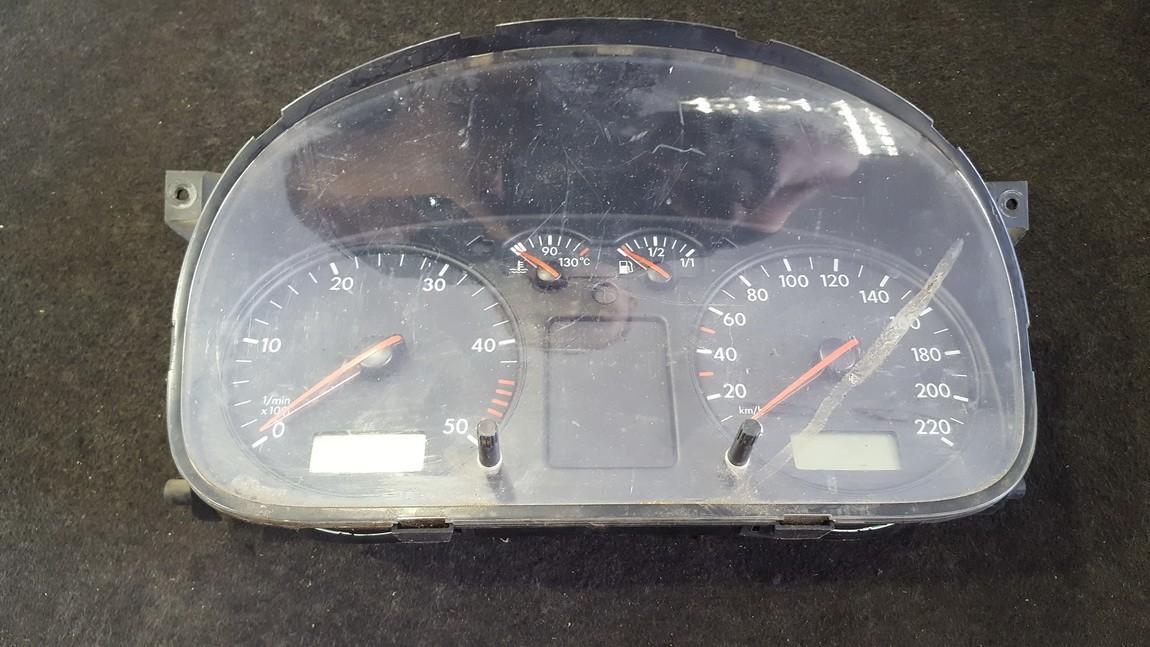 Spidometras - prietaisu skydelis 7D0920801B 110.008.963/001 Volkswagen TRANSPORTER 1994 1.9