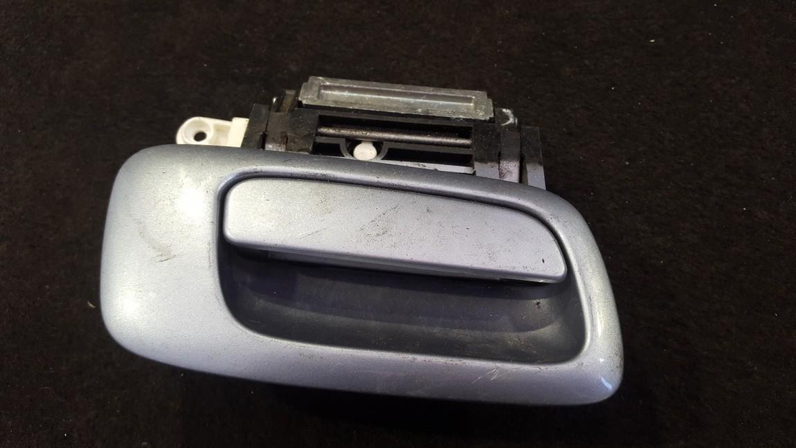 Duru isorine rankenele G.D. NENUSTATYTA nenustatyta Opel ZAFIRA 2000 2.0