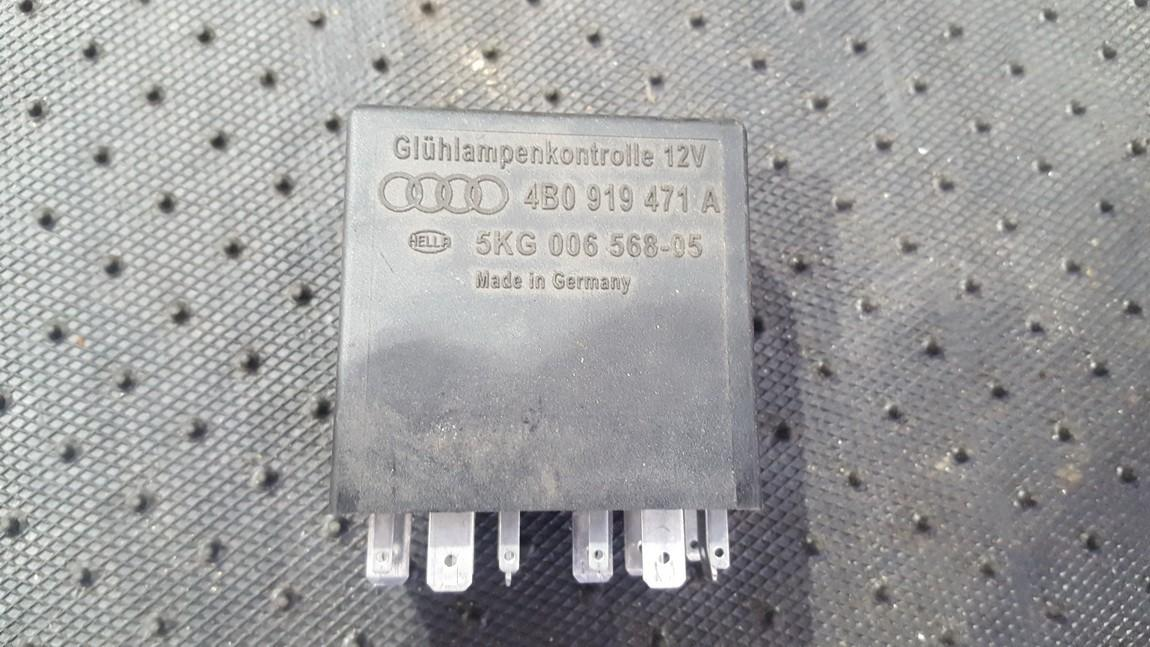 Rele 4B0919471A 5KG006568-05 Audi A6 2005 3.0