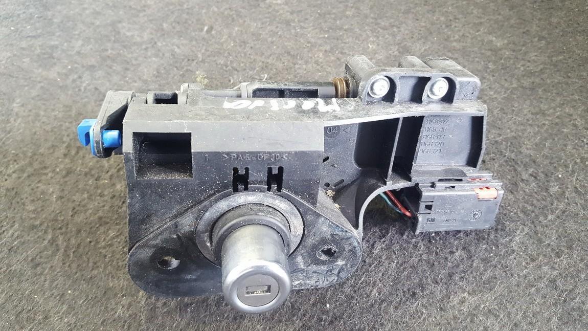 Galinio dangcio atidarymo rankenele isorine  (mikrikas) 13168316 NENUSTATYTA Opel MERIVA 2003 1.7